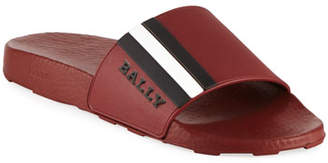 Bally Saxor Rubber Slide Sandal