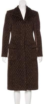 Agnona Alpaca Long Coat