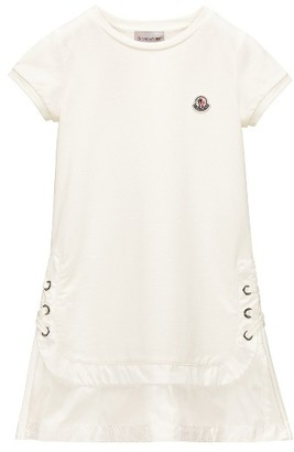 Girl's Moncler Layered Look Terry Dress $235 thestylecure.com