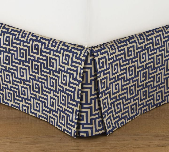 Sutter Jacquard Bed Skirt