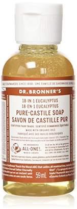 Dr Bronner Organic Eucalyptus Castile Liquid Soap 59 ml