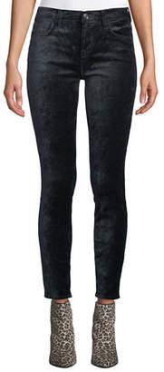 7 For All Mankind The Ankle Skinny Velvet Jeans