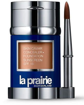 La Prairie Skin Caviar Concealer and Foundation Sunscreen SPF 15, 1.0 oz./30 ml