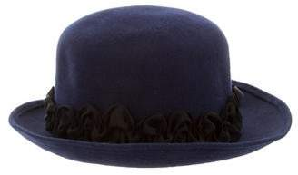 LOLA Cosmetics Ruffled Felt Hat w/ Tags