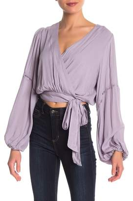 Free People Dream Wrap Top