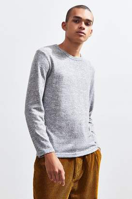 Urban Outfitters Cozy Brushed Crew-Neck Long Sleeve Tee
