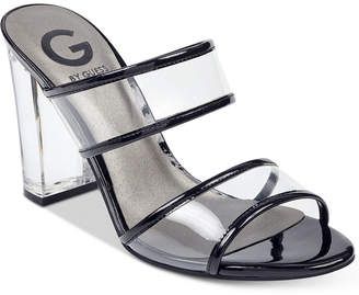 G by Guess Brayla Lucite Dress Sandals Women's Shoes