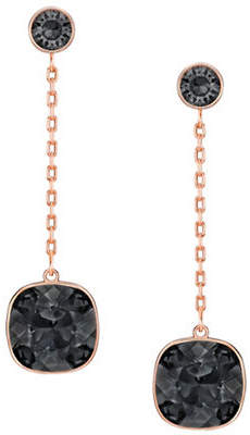 Swarovski Lattitude Crystal Drop Earrings