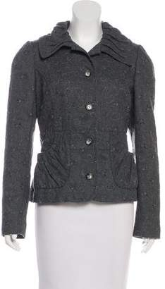 Dolce & Gabbana Embroidered Wool Jacket