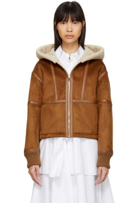 Stella McCartney Brown Sherpa Jacket