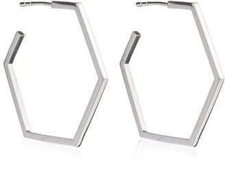 df811819e Large Sterling Silver Hoop Earrings - ShopStyle UK