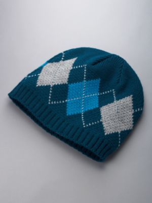 City Style Argyle Hat