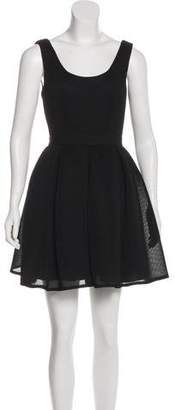 Aidan Mattox Sleeveless Mini Dress