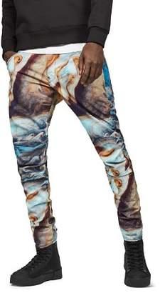 G Star Elwood Slim Fit Moto Jeans in Jupiter
