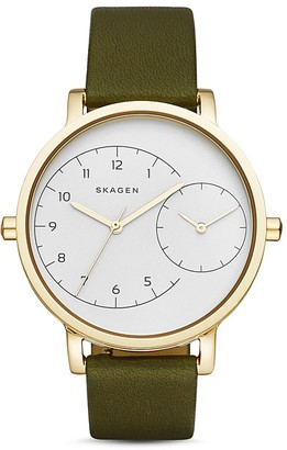 Skagen Hagen Dual-Time Watch, 36mm $195 thestylecure.com