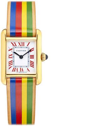 Cartier La Californienne Small Rainbow Tank Watch