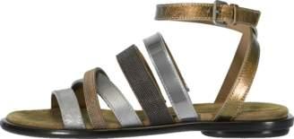 Brunello Cucinelli Monili Multi Strap Sandal