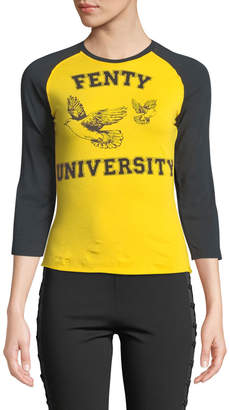 FENTY PUMA by Rihanna 3/4-Sleeves Graphic Logo Baby T-Shirt