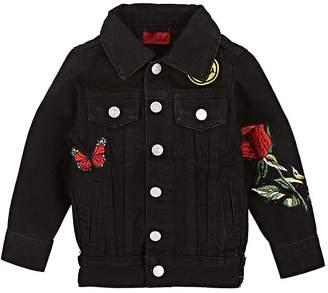 Haus of JR Kids' Jeffery Embroidered Denim Jacket