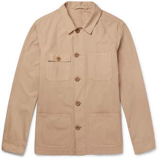 Altea Cotton-Poplin Shirt Jacket