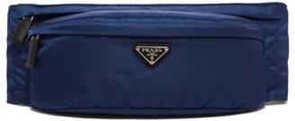 62d174cc2505ed Prada Logo Nylon Belt Bag - Mens - Navy