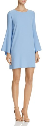 AQUA Bell Sleeve A-Line Dress - 100% Exclusive $88 thestylecure.com