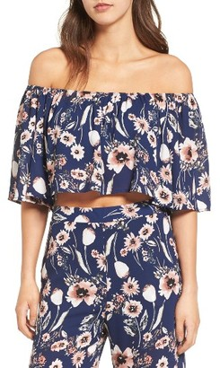 Women's Leith Strapless Off The Shoulder Blouse $45 thestylecure.com