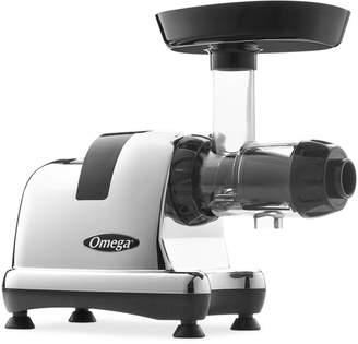 Omega 8008 Chrome Slow Speed Nutrition Center Masticating Juicer