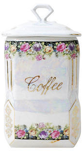 G3Q Designs Porcelain Coffee Canister