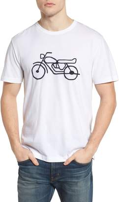 French Connection Motorcycle Crewneck T-Shirt