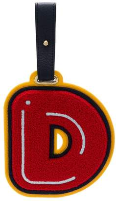 Chaos Letter D luggage tag