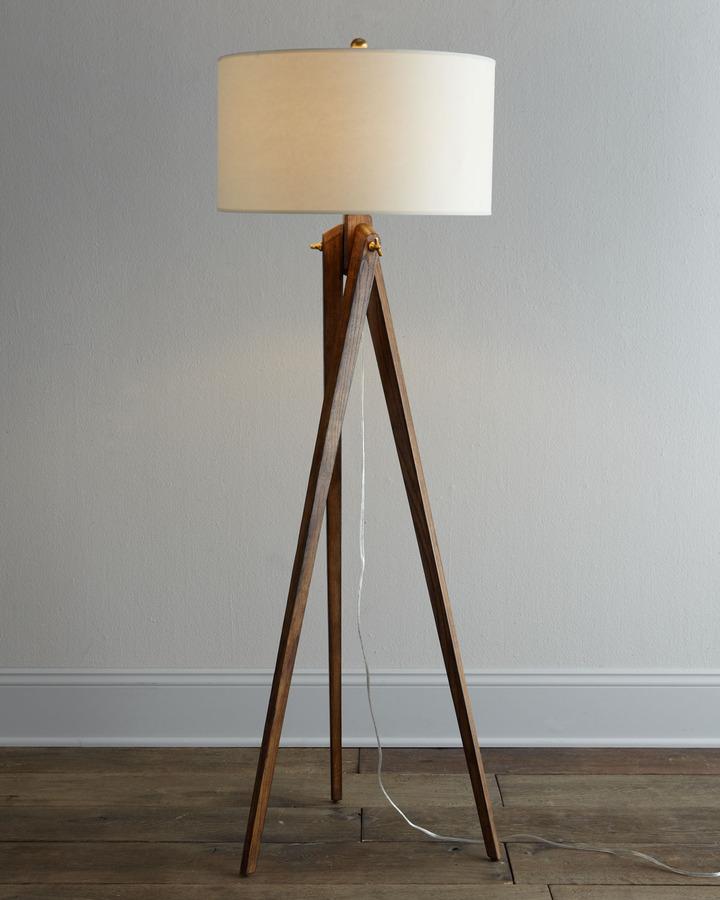 Horchow VISUAL COMFORT Tripod Floor Lamp