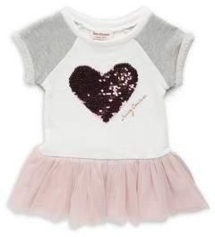 Little Girl's Sequined Drop-Waist Dress $60 thestylecure.com