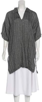eskandar Linen-Blend Tunic