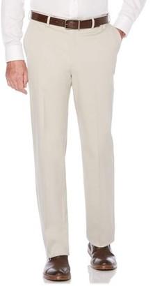 Savane Men's Flat Front Ultimate Performance Chino Pants