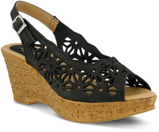 Spring Step Abigail Platform Wedge Sandal