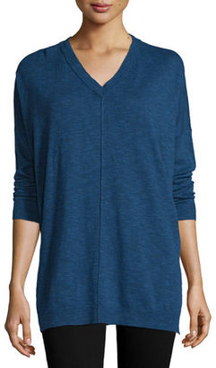 Eileen Fisher Classic V-Neck Box Top $188 thestylecure.com