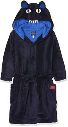 Joules Boy's Bruce Dressing Gown,Years (Size: 5-6)