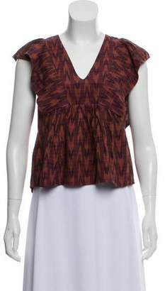 3fe93a068c Red Plaid Ruffle Top - ShopStyle