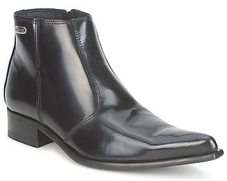 New Rock NEWMAN women's Mid Boots in Black