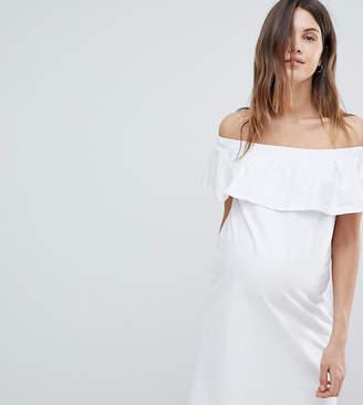 Mama Licious Mama.licious Mamalicious Bardot Jersey Dress