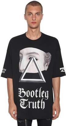 Undercover Oversized Print Cotton Jersey T-Shirt