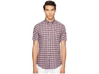 DSQUARED2 Street Ska Check Shirt Men's Clothing