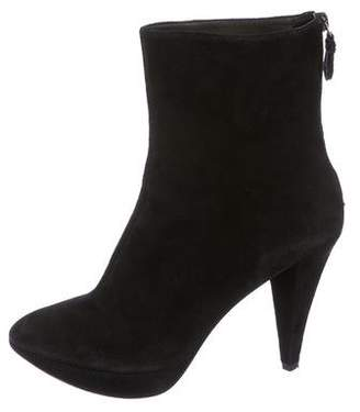 Belle by Sigerson Morrison Suede Pointed-Toe Boots
