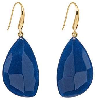 Lola Rose Women Blue Coral Quartz Dangle and Drop Earrings 702386