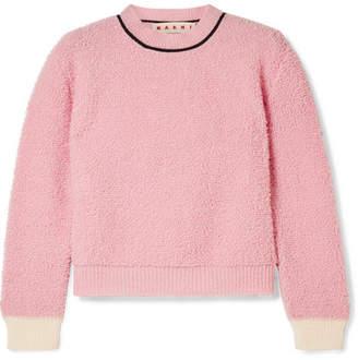 Marni Wool-blend Fleece Sweater - Pink