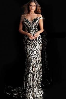 Jovani Off Shoulder Gown