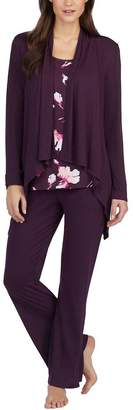 Carole Hochman Midnight Ladies' 3-Piece Pajama Set