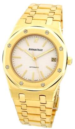 "Audemars Piguet Royal Oak"" 18K Yellow Gold Automatic Mens Watch"