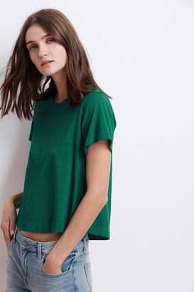 Velvet by Graham & Spencer LULA COTTON SLUB SWING TEE